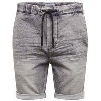 Only & Sons Spodnie 'Denimlook' nakrapiany szary