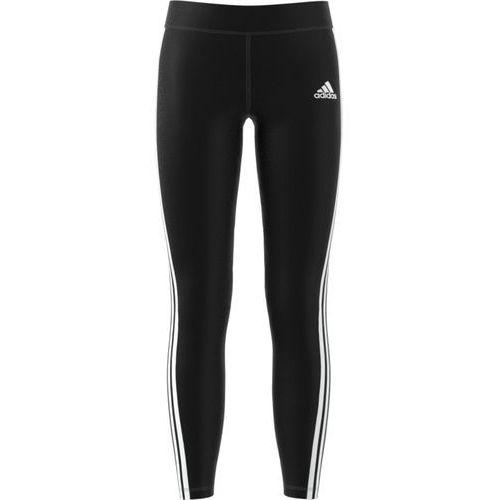 Adidas legginsy YG Gu 3S Tight Black/White 134 (4057288513834)