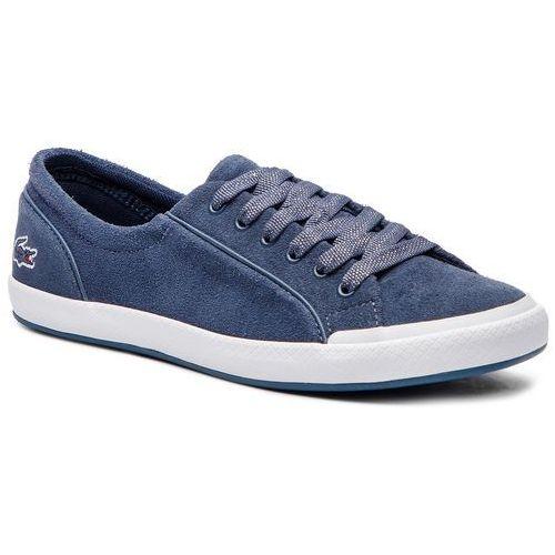Tenisówki - lancelle sneaker 318 caw 7-36caw0028121 dk blue/wht, Lacoste, 35.5-41