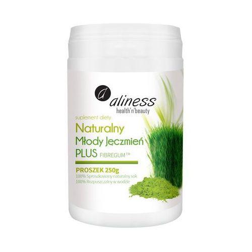 Naturalny Młody Jęczmień PLUS - proszek z soku z młodego jęczmienia - 250g – Aliness