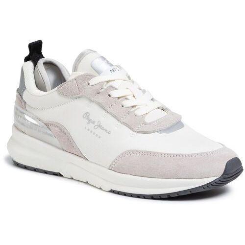 Sneakersy - n22 summer pls31007 optic white 802 marki Pepe jeans
