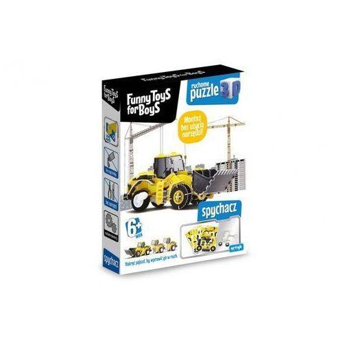 Puzzle Ruchome puzzle 3D - Spychacz - DARMOWA DOSTAWA OD 199 ZŁ!!! (5901811130557)