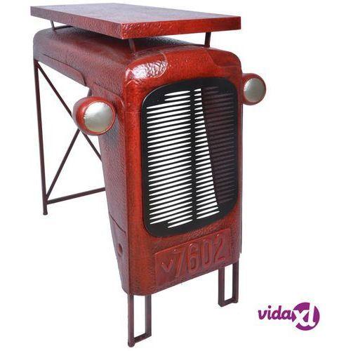 Esschert Design Stolik Tractor, czerwony, IH033 (8714982114601)