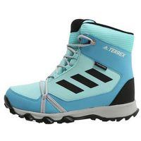 adidas Performance TERREX SNOW Śniegowce aqua/black/vapor blue, kolor niebieski
