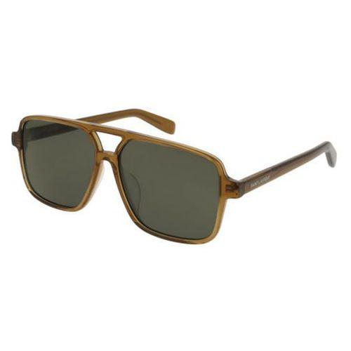 Saint laurent Okulary słoneczne sl 176/f asian fit 004