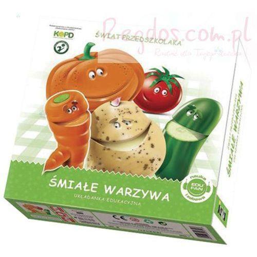 Jawa Śmiałe warzywa układanka edukacyjna (5901838003513)