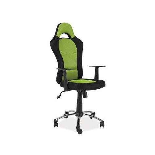 Fotel obrotowy, krzesło biurowe Q-039 green