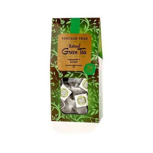 natural green tea - gunpowder 1 kandy - 20 torebek 2,5g marki Vintage teas