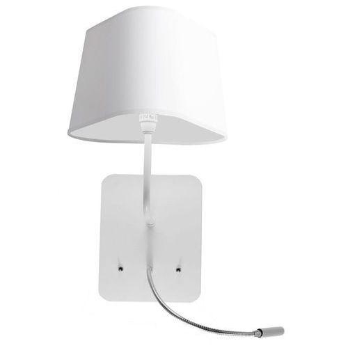 PETIT NUAGE - Kinkiet z lampą do czytania LED Biały