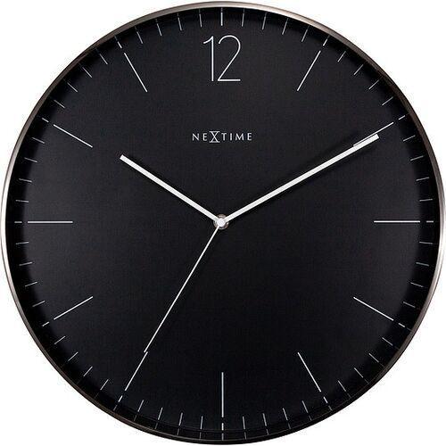 Zegar ścienny essential xxl szaro-czarny