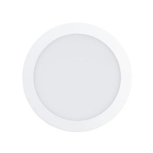 Plafon fueva 1 94066 lampa oprawa wpuszczana downlight oczko 1x18w led biały marki Eglo