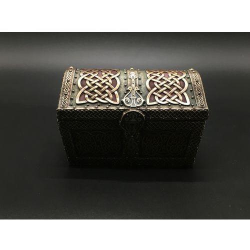 Celtycka skrzynia na skarby szkatułka (wu76684a4) marki Veronese