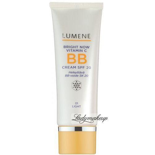 Lumene Bright Now Vitamin C Odmładzająco-rozświetlający krem BB 02 MEDIUM SPF20, 50 ml