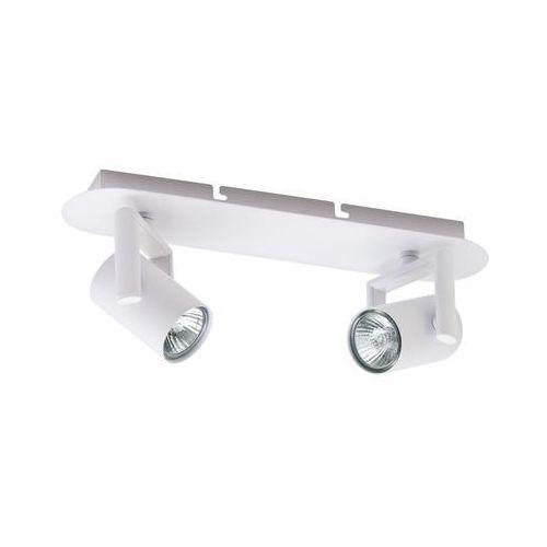Italux Oprawa ścienna sufitowa listwa spot vincent 2x35w gu10 białe metalowe reflektory fh31712aj13