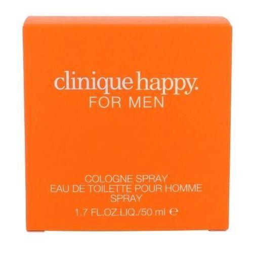 Clinique  happy for men woda kolońska 50 ml dla mężczyzn