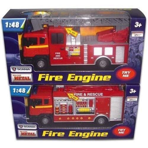 Straż Pożarna Scania światło dźwięk 1:48 mix (4897021680894)