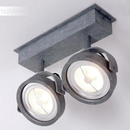 mexlite reflektor led siwy, 2-punktowe - design - obszar wewnętrzny - mexlite - czas dostawy: od 10-14 dni roboczych marki Steinhauer