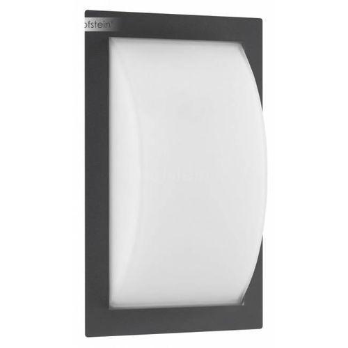 LCD Zewnętrzny kinkiet LED Czarny, 1-punktowy - Nowoczesny - Obszar zewnętrzny - LCD - Czas dostawy: od 3-6 dni roboczych (8033239494465)