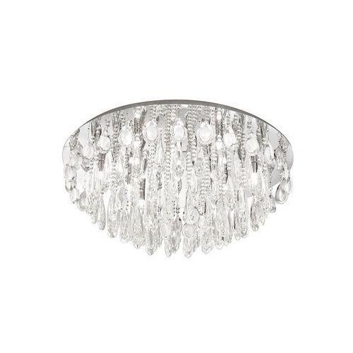 Plafon Eglo Calaonda 93434 lampa sufitowa kryształowa 10x33W G9 fi760 chrom/kryształ (9002759934347)