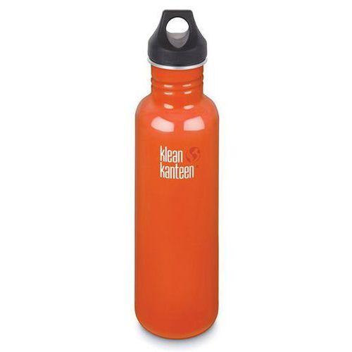 Klean kanteen bidon classic loop cap 800ml pomarańczowy - pomarańczowy