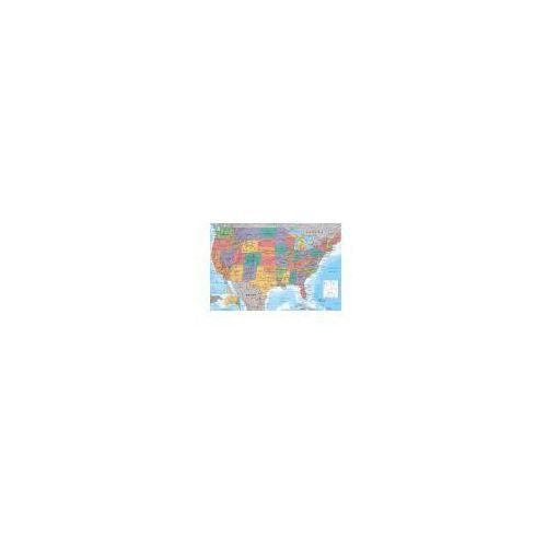 Gbeye Mapa stanów zjednoczonych - plakat (5028486236206)