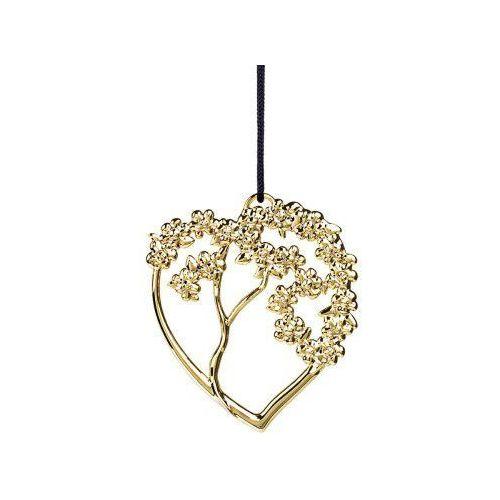 Ozdoba świąteczna serce drzewo Karen Blixen, złota - Rosendahl (5709513326137)