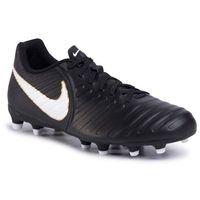 Nike Buty - tiempo rio iv fg 897759 002 black/white/black