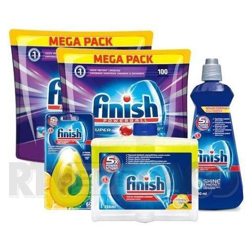 Finish Quantum Max 100 x 2 + odświeżacz + nabłyszczacz + środek do czyszczenia (0000001184913)