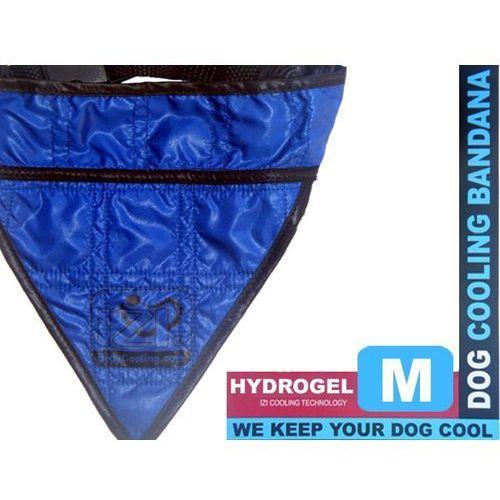 Izibodycooling Niebieska chłodna bandamka dla psów - rozmiar m
