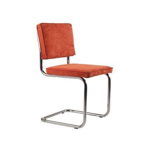 Zuiver krzesło ridge rib pomarańczowe 19a 1006003