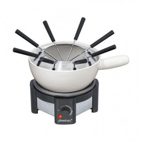 Steba Zestaw elektryczny do fondue fo 1.2 1500w kolor czarny kolor biały
