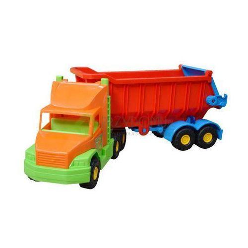 Super Truck 36400 czerwona wywrotka
