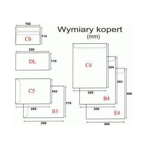Koperta C6/25szt. SK biała (5908212610039)
