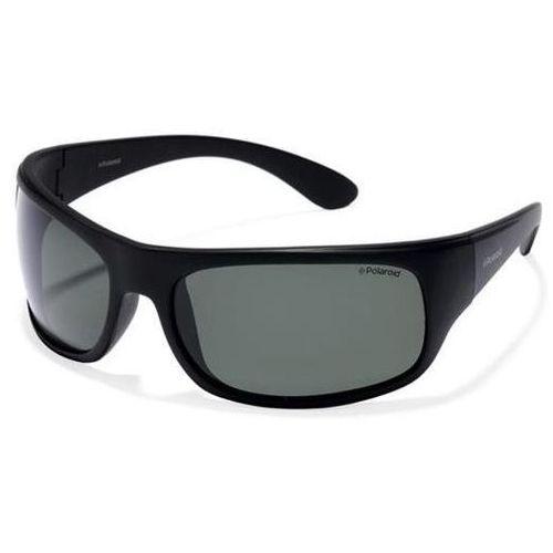 Polaroid Okulary Przeciwsłoneczne Black 7886