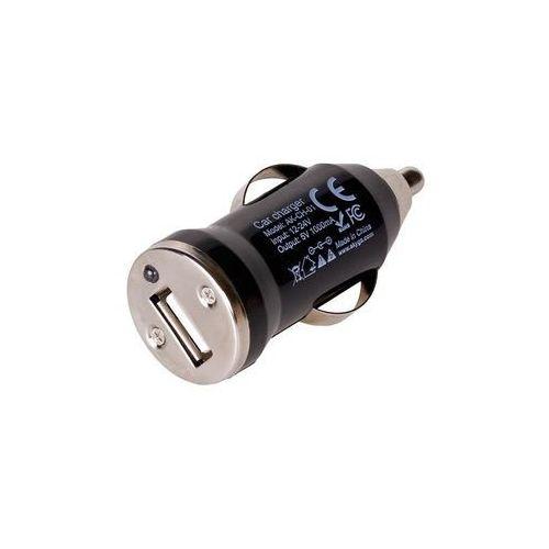 Ładowarka Akyga USB 1A Czarna (AK-CH-01) Darmowy odbiór w 21 miastach!, AK-CH-01