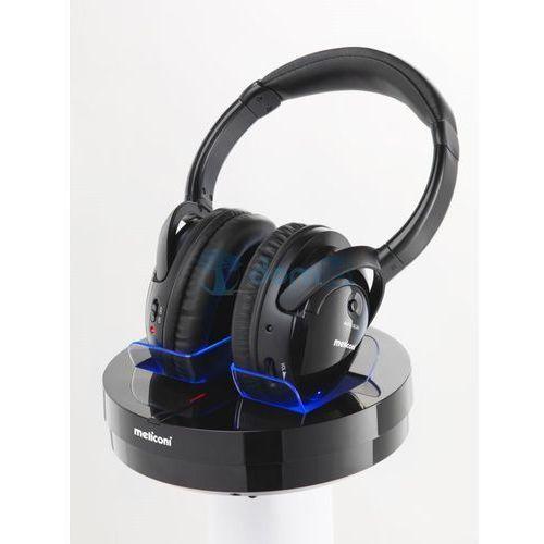 Słuchawki Meliconi HP300 Professional, Czarne Darmowy odbiór w 20 miastach! Raty od 5,82 zł