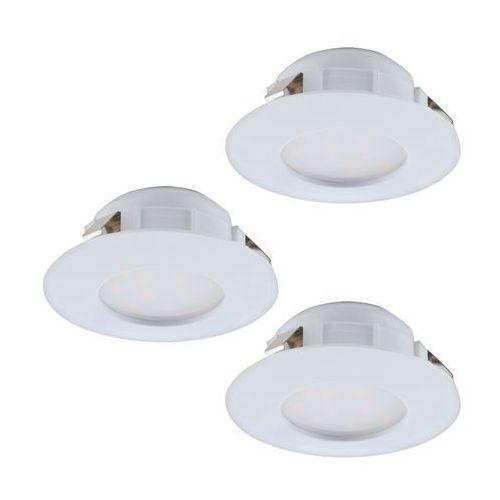 Oczko led Eglo Pineda 95821 oprawa do wbudowania 3x6W LED biały (9002759958213)