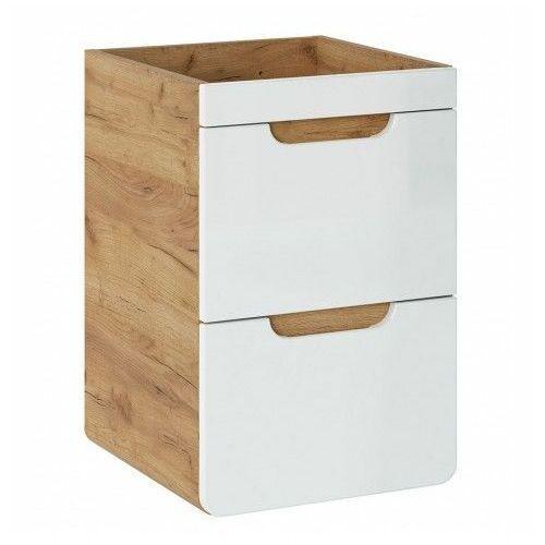 Szafka pod umywalkę z szufladami borneo 11x - biały marki Producent: elior