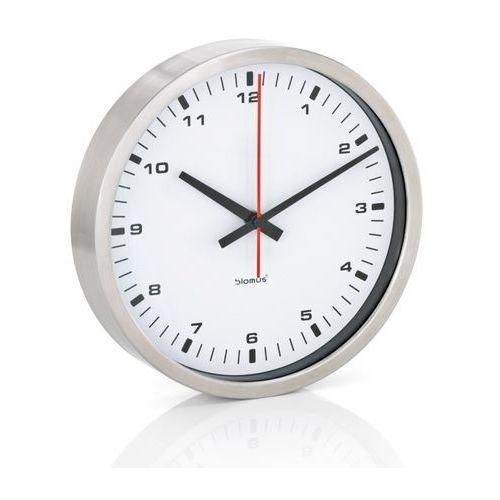 era - zegar ścienny z białą tarczą - 24 cm - 24 cm marki Blomus
