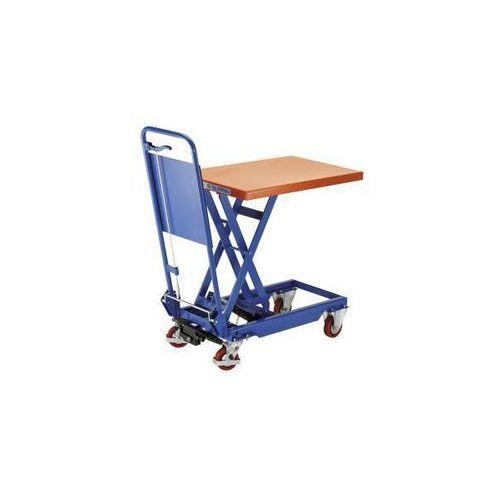 Platformowy wózek podnośnikowy z pałąkiem składanym, nośność 150 kg, zakres podn marki Seco