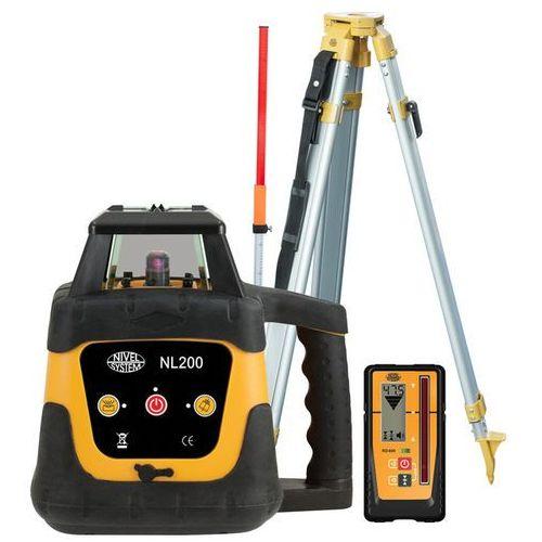 Nivel system Niwelator laserowy nl200 digital + czujnik + statyw + łata - od ręki!