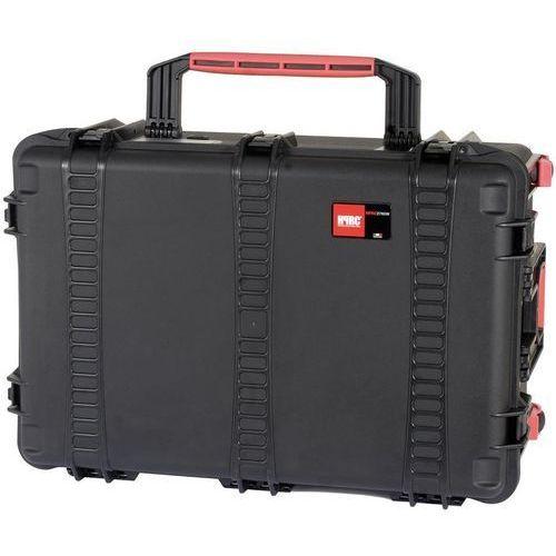 HPRC Kufer transportowy HPRC 2760W z 4 kółkami i uchwytem, pianka, HPRC2760WCUBBLK