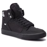 Sneakersy SUPRA - Vaider 08044-005-M Black/Chrome/Black, w 4 rozmiarach