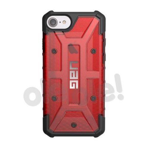 Uag  plasma case iphone 6s/7 (przezroczysty-czerwony) - produkt w magazynie - szybka wysyłka!