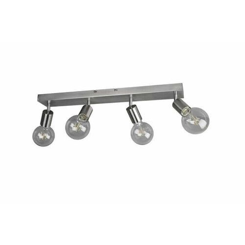 Trio RL Vannes R80184007 plafon lampa sufitowa 4x40W E27 niklowy
