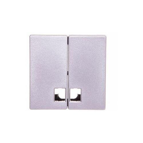 Schneider electric System m klawisz świeczikowy świecznikowy aluminium tworzywo mtn437560 (3606485004617)