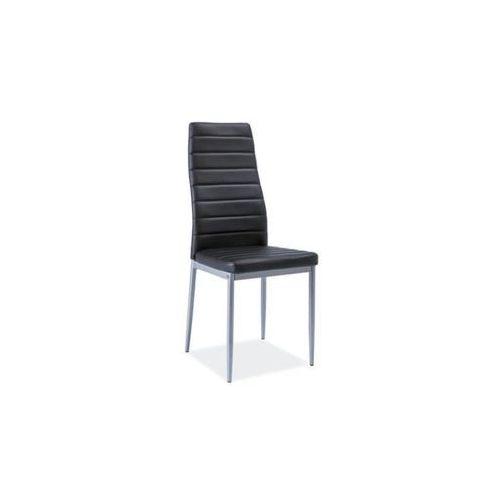 Krzesło H-261 Bis Alu Czarny