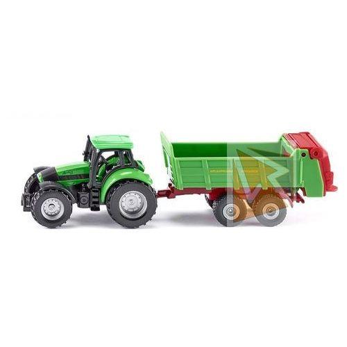 Traktor z przyczepą marki Siku