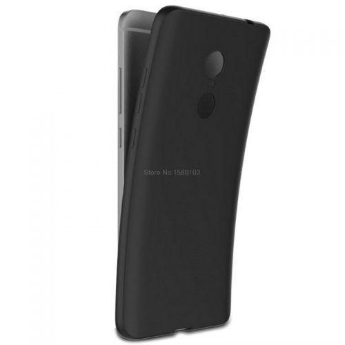 Silikon czarny do Xiaomi Redmi Note 4, kolor czarny