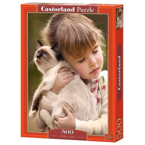 Puzzle 500 Pure Love - Castor OD 24,99zł DARMOWA DOSTAWA KIOSK RUCHU, 5_620418
